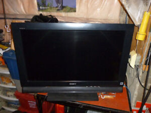 "36""  flat screen is ""SOLD"""