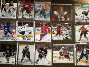 Autographed NHL 8x10 photos for trade..