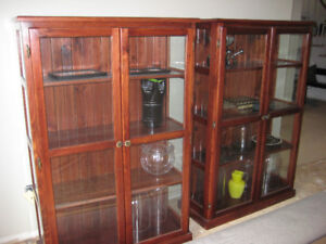 PAIR OF MATCHING CABINETS