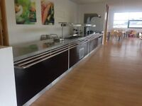 Large Industrial kitchen unit is 26ft in length £1.500