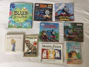VARIOUS CHILDREN'S BOOKS (15 books - $1 each or $10 for all)