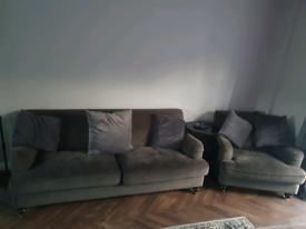 Arm chair & sofa