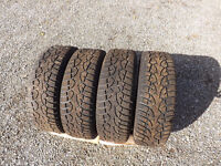 Winter Tires and Rims For Sale...185 65 14 inch
