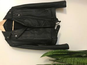 Mackage leather jacket with tags