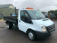2012 Ford Transit 350 DROPSIDE TIPPER TDCi 100ps [DRW] Euro 5 DIRECT FROM COUNCI