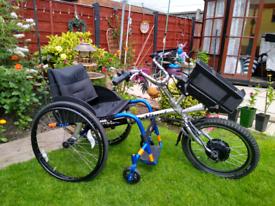 Extreme Power Wheelchair Trike