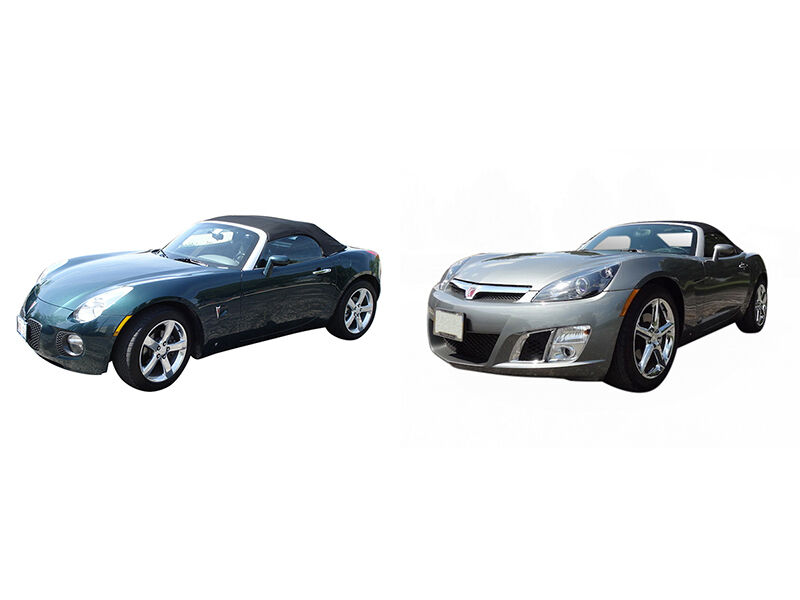 Solstice GXP vs Saturn Sky Red Line  eBay