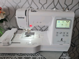Brother m240ed embroidery machine