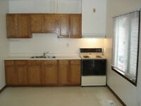 RENOVATED 1 BEDROOM., LAMINATE FLOORS, ENSUITE LAUNDRY
