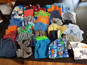 Boys Size 3 Shirts and Shorts - 36 Pieces