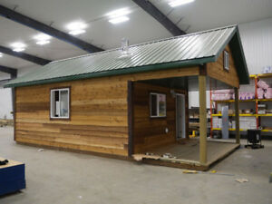 Escape with our affordable cabin line!