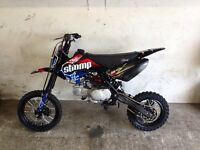 Mint stomp 140cc pitbike £495