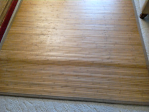 Bamboo Floor Covering (Accent covering)