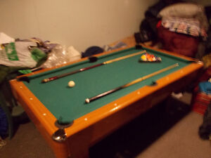 pool table -recreational