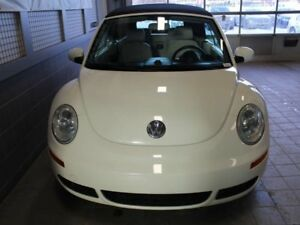 2007 Volkswagen New Beetle Convertible TRIPLE WHITE CONVERTIBLE
