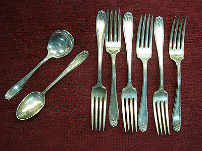 """La Vigne by 1881 Rogers Plate Silverplate Individual Pie Fork 6 7//8/"""""""