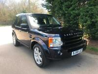 58 REG LAND ROVER DISCOVERY 3 HSE 2.7 TDV6 AUTOMATIC 4X4 7 SEATER