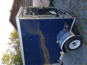 2017 5x6 FOREST RIVER enclosed cargo trailer