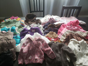 6-12 months baby girl clothes lot