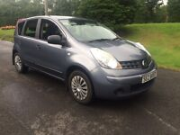 late 2008 Nissan note 1.4 petrol