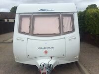 fixed bed coachman with mover 2006