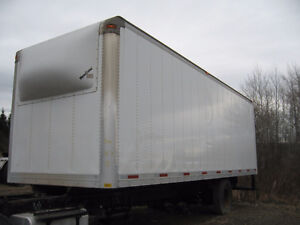 """26'6"""" cargo box for truck (not insulated)"""