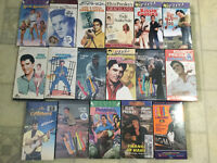 17 Elvis vhs collections sealed never been open