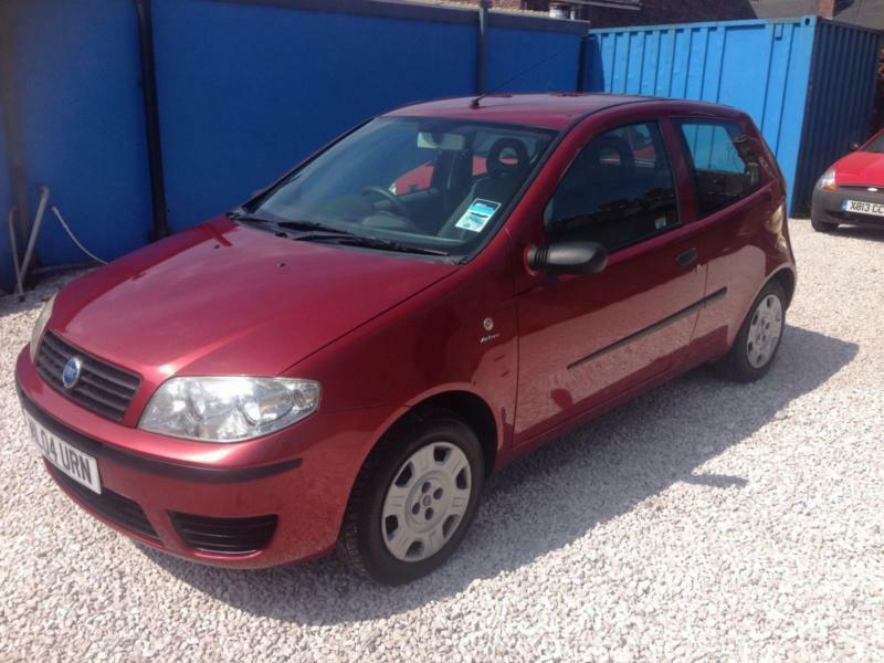 fiat punto 2004 1 2 8v active manual petrol in red in stoke on trent staffordshire gumtree. Black Bedroom Furniture Sets. Home Design Ideas