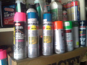 PAINT  MANY CANS COLOURS
