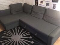 Friheten Ikea corner sofa bed.