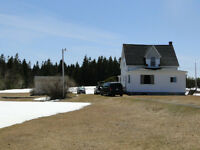 Two storey house with 25 acres woodland - Northumberland Strait