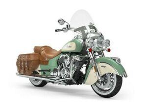 2019 Indian Motorcycle Chief Vintage Willow Green / Ivory Cream