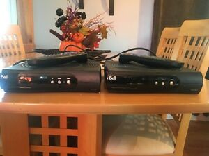 2 Bell Satellite receivers $40