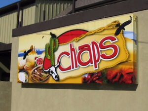 Chaps Restaurant Requires Line Cooks, prep person and dishwasher