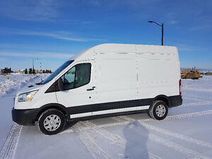 2016 Ford transit 250 no gst 14000kms