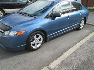 2008 Honda Civic, Safety and e-test