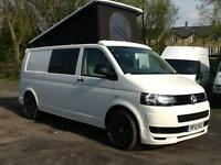 2012 1 owner Volkswagen T-SPORTER T30 102 TDI LWB 4 berth camper can aircon