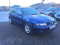 2003/52 Seat Leon 1.8 20v SE LONG MOT HPI CLEAR