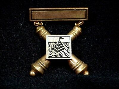 COAST ARTILLERY Masrksman Badge