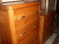 4 piece antique bedroom set
