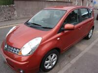 NISSAN NOTE 1.6 acenta 2008 Petrol Manual in Orange