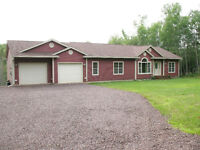 Executive bungalow for sale near Sussex, NB