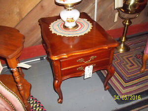 Wooden Side/End Table with Drawer