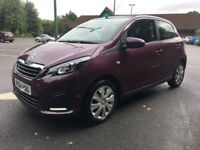 2015 Peugeot 108 top active model bargain