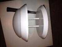 100W White Halogen Ceiling Light / Plafonnier blanc de 100W City of Montréal Greater Montréal Preview