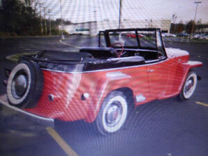 SOLD REDUCED RARE  1950  WIILYS   JEEPSTER