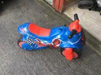 Spider-Man ride on toy