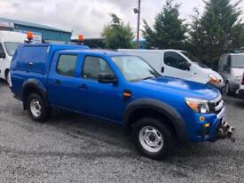 Ford Ranger 2.5TDCi 4x4 XL 2011 11 reg double cab 1 owner from new