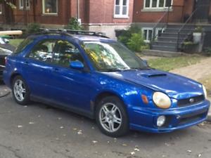 2002 Subaru WRX stock original