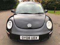 Volkswagen Beetle 1.6 LUNA (black) 2008